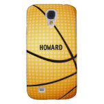 Basketball Texture Samsung Galaxy S4 Case