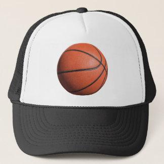 BASKETball texture Trucker Hat