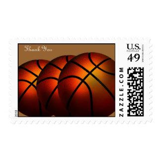 BasketBall Thank You Postage