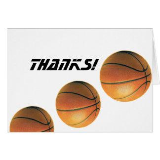 Basketball-Thanks! Cards