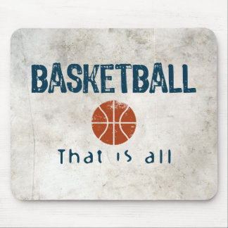 Basketball That Is All Mouse Pad