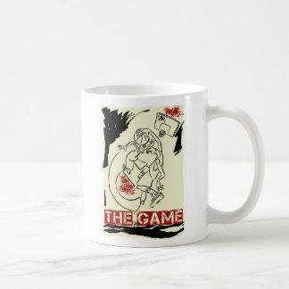 Basketball The Game Inks Black Cream Red Coffee Mugs