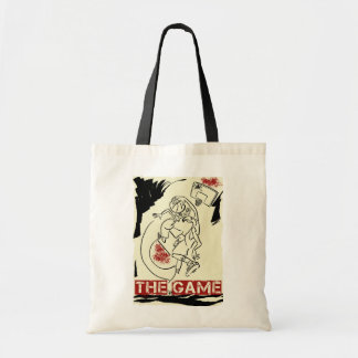 Basketball The Game Inks Black Cream Red Tote Bags