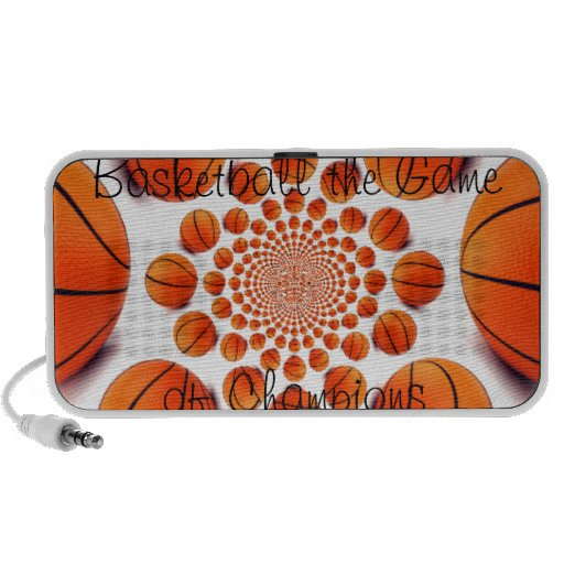 Basketball the Game of Champions Doodle PC Speakers