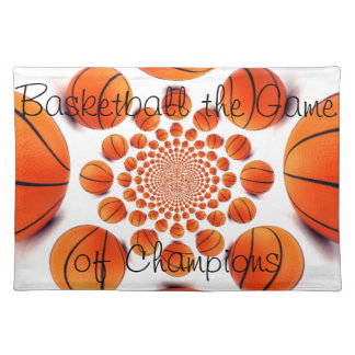 Basketball the Game of Champions Placemats