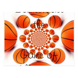 Basketball the Game of Champions Postcard