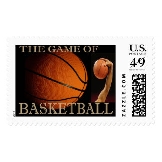 BASKETBALL THE SPORT POSTAGE STAMP