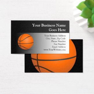 Basketball Theme Business Card