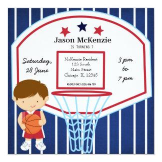 Basketball theme card