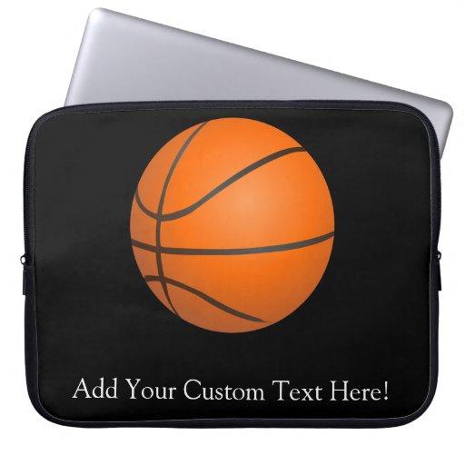 Basketball Theme Computer Sleeves