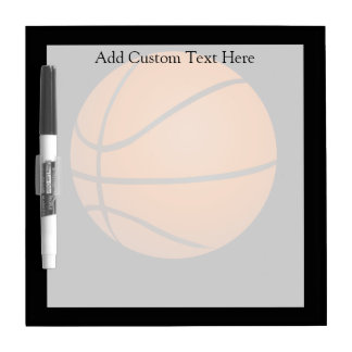 Basketball Theme Dry-Erase Board
