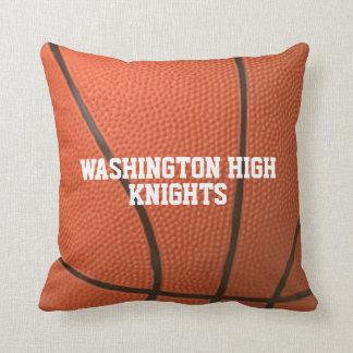Basketball Theme Personalized Throw Pillow
