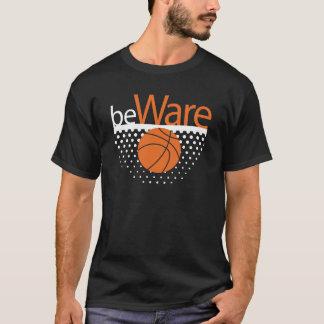 basketball theme tshirt design for dark clothes