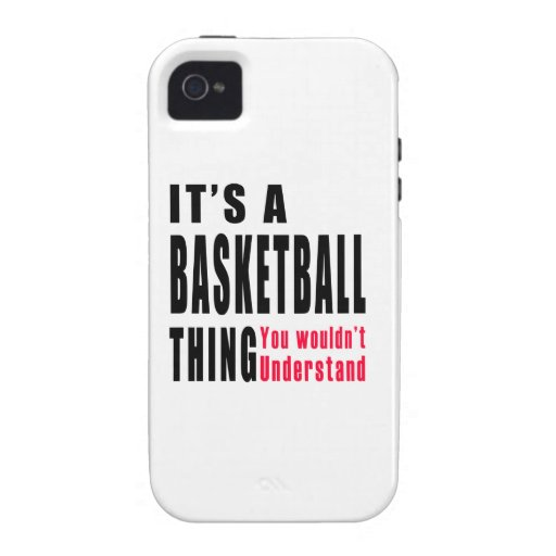 Basketball Thing Designs iPhone 4 Covers