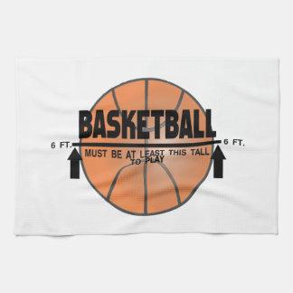 Basketball This Tall To Play Hand Towel