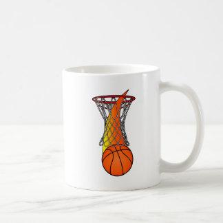 Basketball through Net Coffee Mug