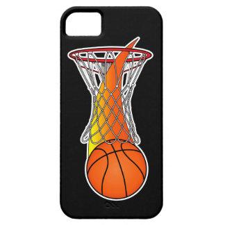 Basketball through Net iPhone SE/5/5s Case