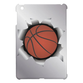 basketball thru metal sheet iPad mini cases