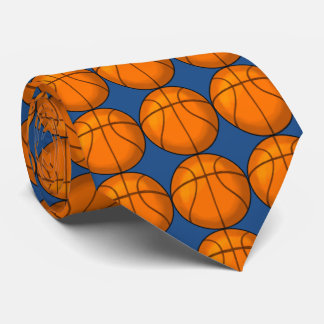Basketball Tie - Wear It On Game Day!