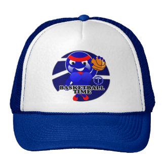 BASKETBALL TIME TRUCKER HAT
