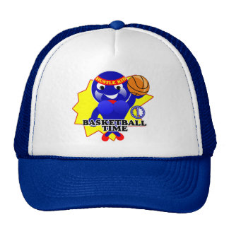 Basketball Time Hustle Trucker Hat