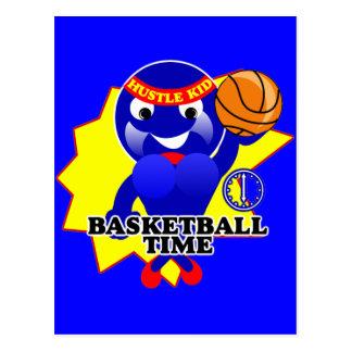 Basketball Time Postcard