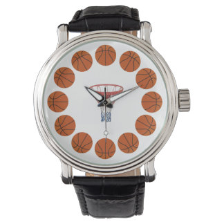 Basketball Time Wristwatch