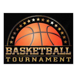 Basketball Tournament Invitation