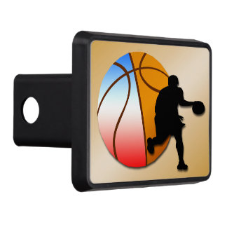 Basketball Trailer Hitch Cover