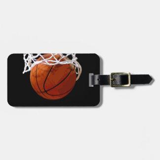 Basketball Travel Bag Tag