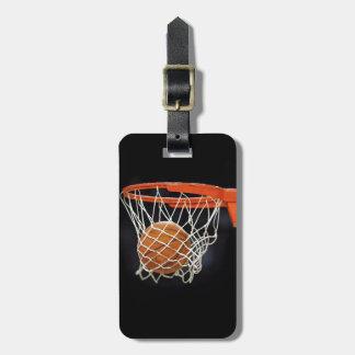 Basketball Travel Luggage Bag Tags