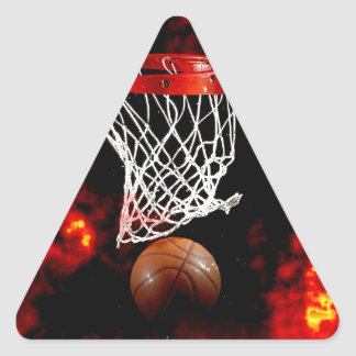 Basketball Triangle Sticker