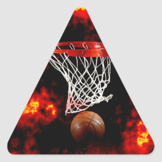 Basketball Triangle Stickers