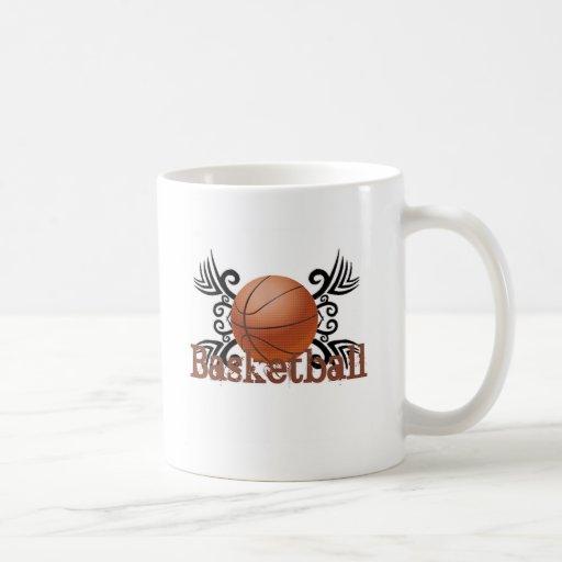 Basketball Tribal 1 Classic White Coffee Mug