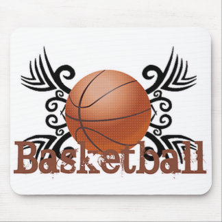 Basketball Tribal 1 Mouse Pad