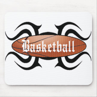 Basketball Tribal 2 Mouse Pad