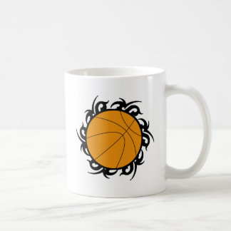 Basketball Tribal Circle Coffee Mug
