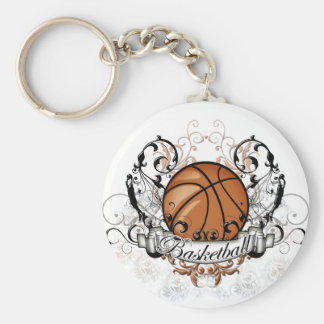 Basketball Tribal Keychain