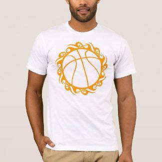 basketball. tribal. T-Shirt