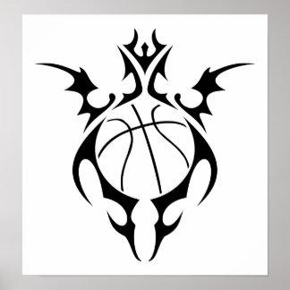 basketball : tribalz print
