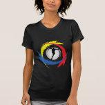 Basketball Tricolor Emblem Shirt