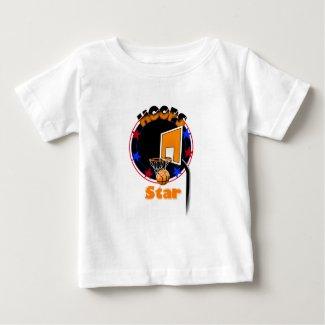 Basketball Tshirt for Baby Boys or Girls