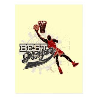 Basketball Tshirts and Gifts Postcard