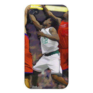 Basketball Two Against One iPhone 4 Cover