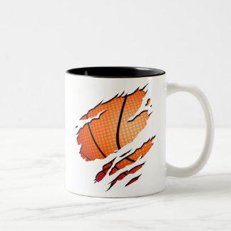 Basketball Two-Tone Coffee Mug