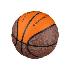 Basketball Uni Orange at Zazzle