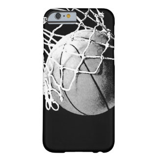 Basketball Unique Quality Resistant Barely There iPhone 6 Case
