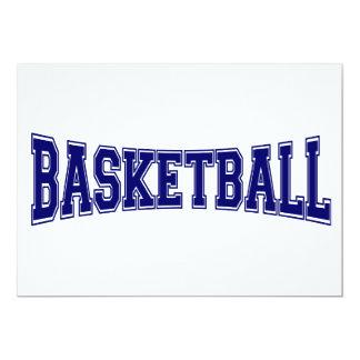Basketball University Style Card