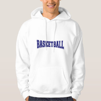 Basketball University Style Hoodie