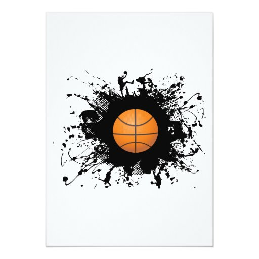 Basketball Urban Style Card